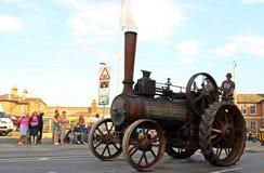 De oude Motor van de Stoom Stock Foto's