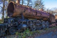 De oude Motor van de Stoom Stock Fotografie
