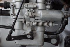de oude motor van het autogas royalty-vrije stock fotografie
