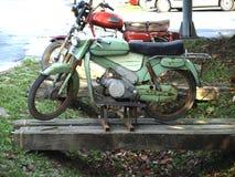 De oude motorfietsen Royalty-vrije Stock Foto's