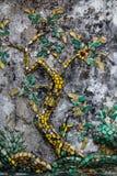 De oude mozaïekboom Royalty-vrije Stock Foto