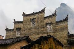 De oude muren van China ` s Stock Afbeeldingen