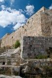 De oude muren van Jeruzalem Royalty-vrije Stock Foto