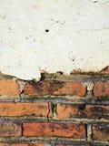 De oude muren zijn gebarsten royalty-vrije stock fotografie