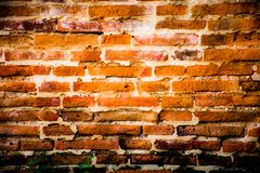 De oude muur Royalty-vrije Stock Foto's