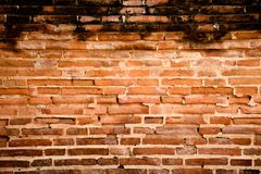 De oude muur stock afbeelding