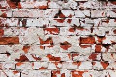 De oude muur van de baksteensteen stock foto