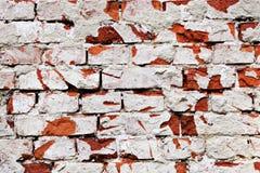 De oude muur van de baksteensteen Royalty-vrije Stock Foto's