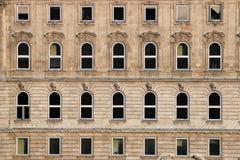 De oude Muur van de Bouw Royalty-vrije Stock Foto's