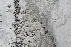 De oude muur van de cementtextuur Stock Fotografie