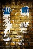 De oude muur van de kunst Royalty-vrije Stock Afbeeldingen