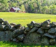 De oude Muur van de Steen royalty-vrije stock fotografie