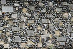 De oude Muur van de Steen Stock Afbeelding