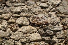 De oude Muur van de Rots stock afbeelding