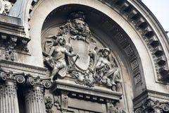 De oude Nationale Bibliotheekbouw Stock Fotografie