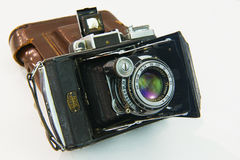 De oude NIKON-camera Stock Fotografie