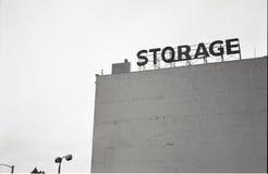 De oude opslagbouw Stock Fotografie
