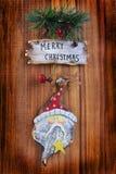De oude ornamenten van Kerstmis Royalty-vrije Stock Afbeelding