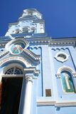 De oude orthodoxe kerk. De Krim. De Oekraïne Royalty-vrije Stock Afbeelding