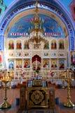 De oude orthodoxe kerk. De Krim. De Oekraïne Stock Afbeelding