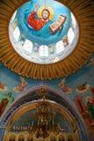 De oude orthodoxe kerk. De Krim. De Oekraïne Stock Foto