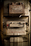De oude Oven van de Steenkool Stock Fotografie