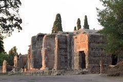 De oude overblijfselen van een Roman stad van Lazio - Italië 219 Royalty-vrije Stock Foto's