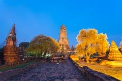 De oude pagode meer dan 600 jaar Stock Afbeelding