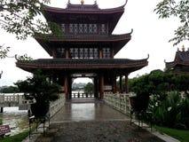 De oude pagode van Huizhou-het westenmeer royalty-vrije stock afbeeldingen
