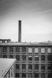 De oude pakhuisbouw Stock Afbeelding