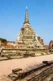 De Oude paleizenpagode Ayutthaya Thailand Royalty-vrije Stock Foto's