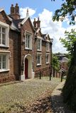 De oude Pastorie. Spookhuis. Chester. Engeland stock fotografie