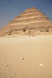 De oude Piramide van de Stap Royalty-vrije Stock Afbeelding