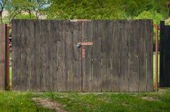 De oude poort aan de tuin Royalty-vrije Stock Afbeelding