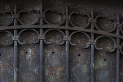 De oude Poort van het Metaal Royalty-vrije Stock Afbeelding