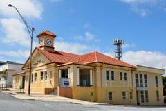 De oude Postkantoorbouw in Gladstone, Australië stock afbeelding