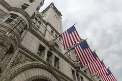 De oude Postkantoorbouw, Washington, gelijkstroom Royalty-vrije Stock Foto's