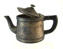 De oude Pot van de Koffie Stock Foto