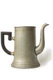 De oude pot van de manierkoffie Stock Afbeelding