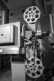 De oude projector van de filmprojectie Royalty-vrije Stock Afbeelding