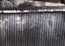 De oude radiator van de Autocondensator royalty-vrije stock foto's