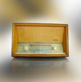 De oude radio van de FM royalty-vrije stock afbeeldingen