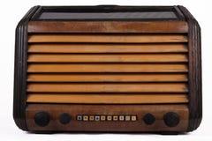 De oude retro radio van de lijstbuis Stock Foto