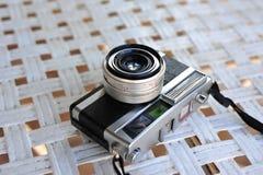 de oude retro wijnoogst van de camerastijl van de afstandsmeterfilm is cl royalty-vrije stock fotografie