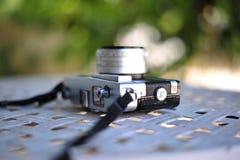 de oude retro wijnoogst van de camerastijl van de afstandsmeterfilm is cl royalty-vrije stock afbeeldingen