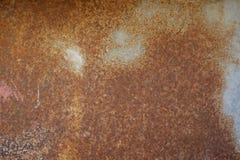 De oude roest van het metaalijzer Stock Afbeeldingen