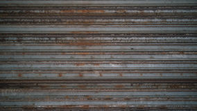 De oude roestige achtergrond van de zinktextuur Royalty-vrije Stock Foto's