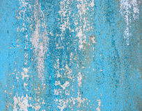 De oude roestige oppervlakte van de metaalcontainer Royalty-vrije Stock Afbeelding