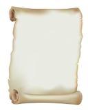 De oude Rol van het Document stock illustratie