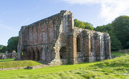 De Oude Ruïne van Furnessabbey former presbyterian monastery now Royalty-vrije Stock Foto
